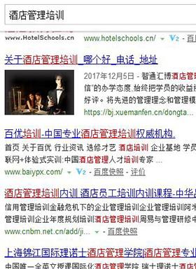 百优同行(北京)教育-排名案例